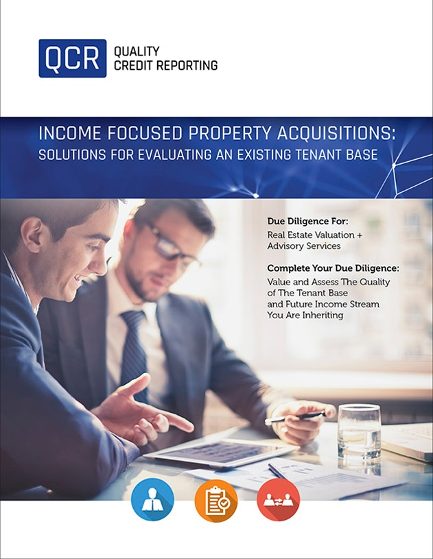 Existing Tenant Base Screening for Income Focused Property Acquisitions