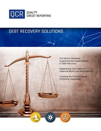 Quality Credit Reporting - Legal and Debt Recovery Brochure