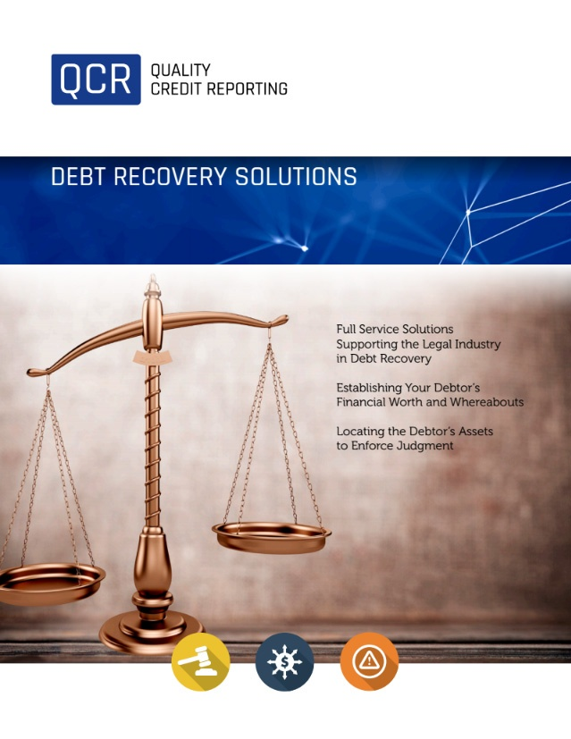 Commerical Debt Recovery Reports
