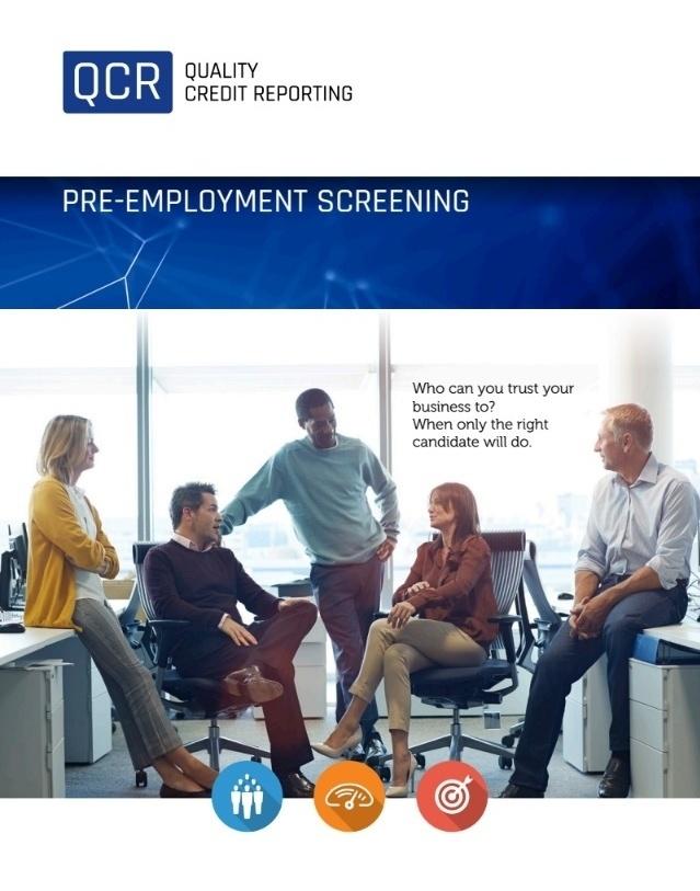 Pre-employment employee screening