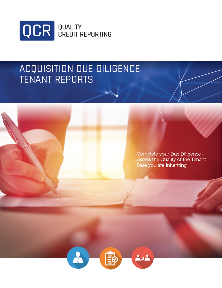 Acquisition Due Diligence Tenant Reports