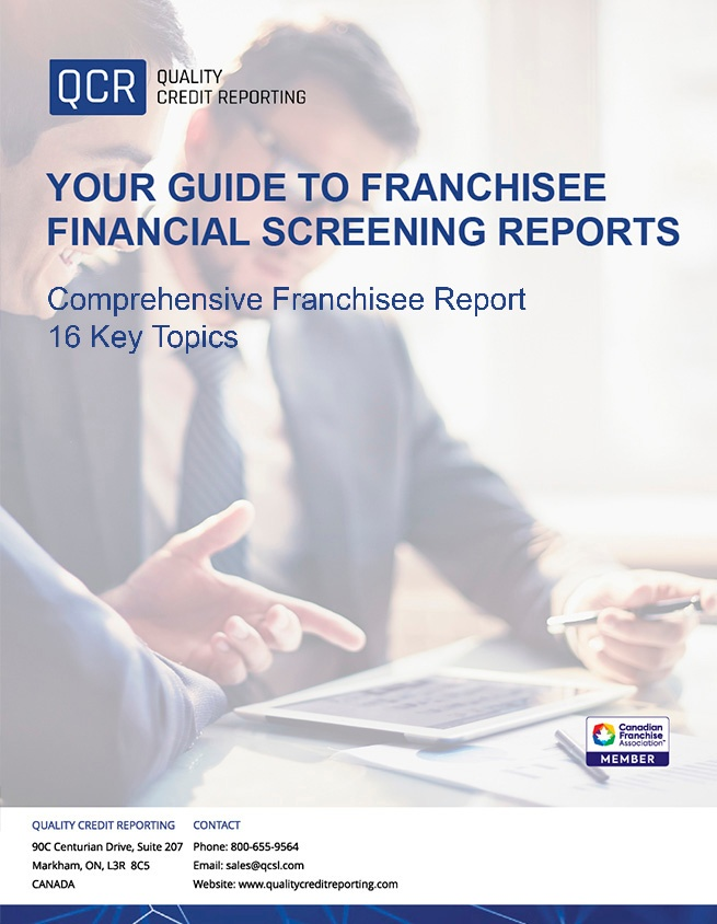 Your Guide to Franchisee Financial Screening Reports